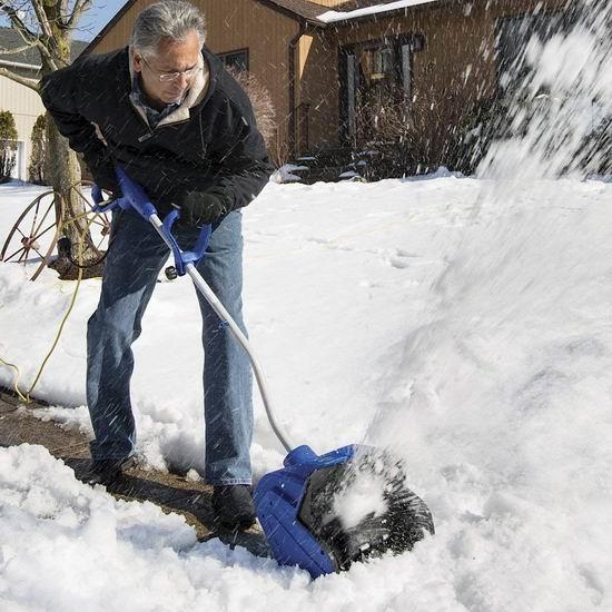 Snow Joe 323E 13英寸 10安培 电动铲雪机6.6折 97.74加元包邮!