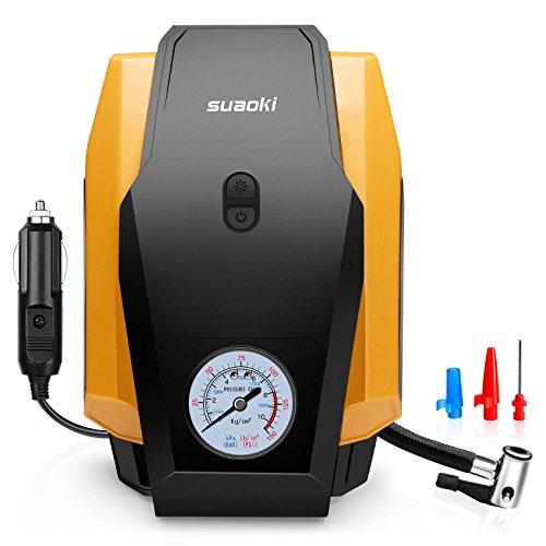 SUAOKI 150 PSI 便携式车载快速充气泵 21.66加元限量特卖!
