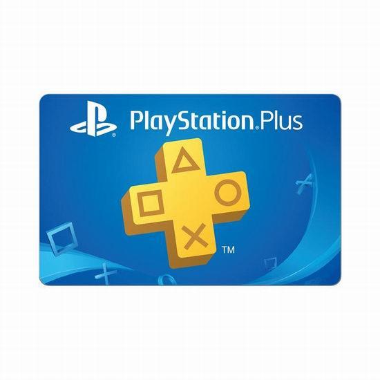 PlayStation Plus 1年会员服务7.1折 49.99加元!