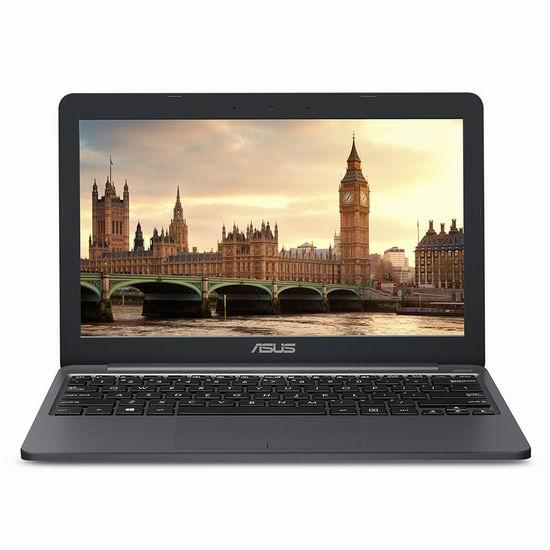 历史新低!Asus 华硕 E203NA-DH02 VivoBook 11.6寸超轻薄 笔记本电脑(4GB, 32GB eMMC + 32GB SD) 246.99加元包邮!