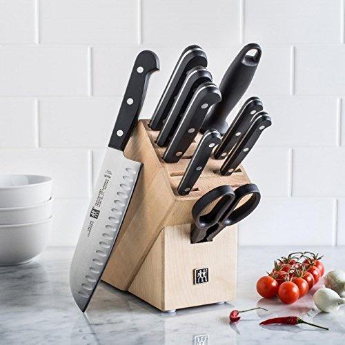 补货!Zwilling J.A Henckels 双立人 TWIN Gourmet 德国不锈钢刀具10件套3.5折 199.99加元包邮!