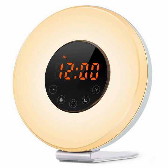 IFLYING 多功能自然唤醒灯 23.99加元限量特卖并包邮!