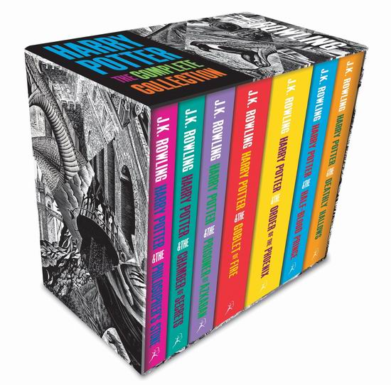 历史新低!Harry Potter 哈利波特(1-7)合集成人版6折 63.3加元包邮!