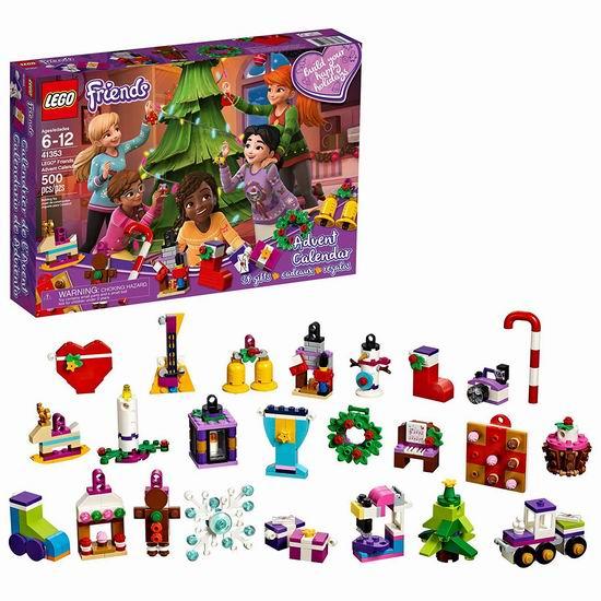 金盒头条:历史新低!LEGO 乐高 41353 好朋友2018年圣诞倒数日历(500pcs)6.2折 24.99加元!