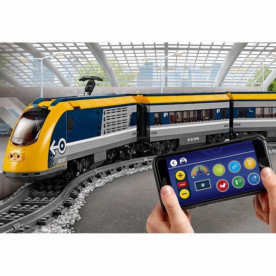 LEGO 乐高 60197 城市系列 蓝牙客运火车7.4折 148.99加元包邮!