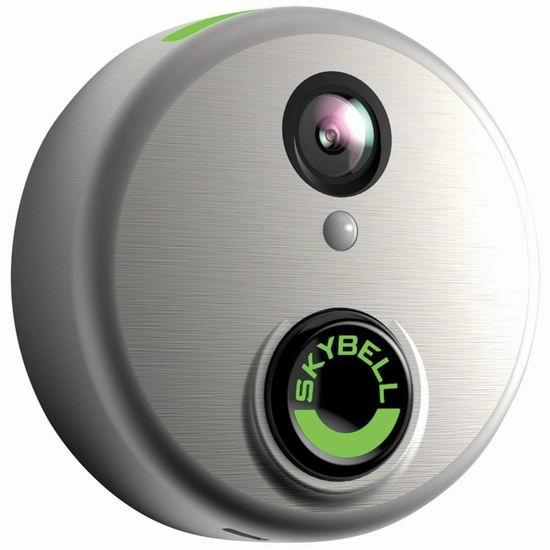 近史低价!Skybell HD WiFi 全高清可视 智能门铃 200.05加元包邮!