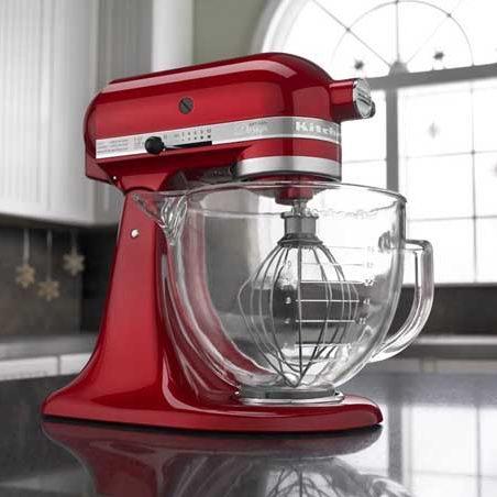 KitchenAid KSM155GB Artisan 5夸脱 多功能搅拌机/厨师机4.2折 254.99加元包邮!