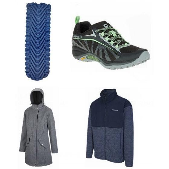 今日闪购:精选 Columbia、The North Face、Marmot 等品牌夹克、运动鞋、帐篷、睡袋、背包等4折起!全场包邮!