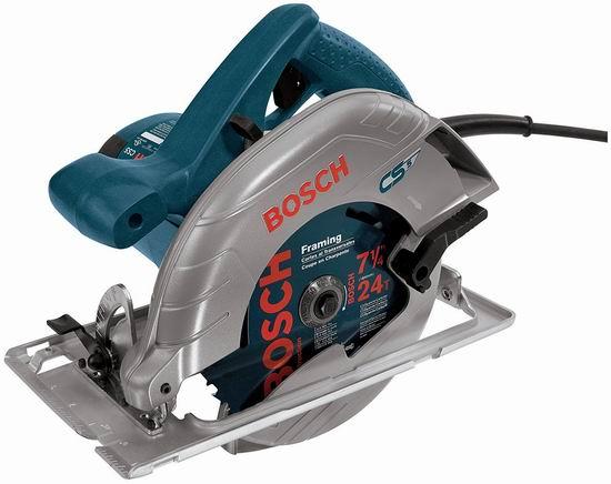 历史新低!Bosch 博世 CS5 7.25英寸 15安培 手持式电动圆盘锯/切割机6.3折 107.4加元包邮!
