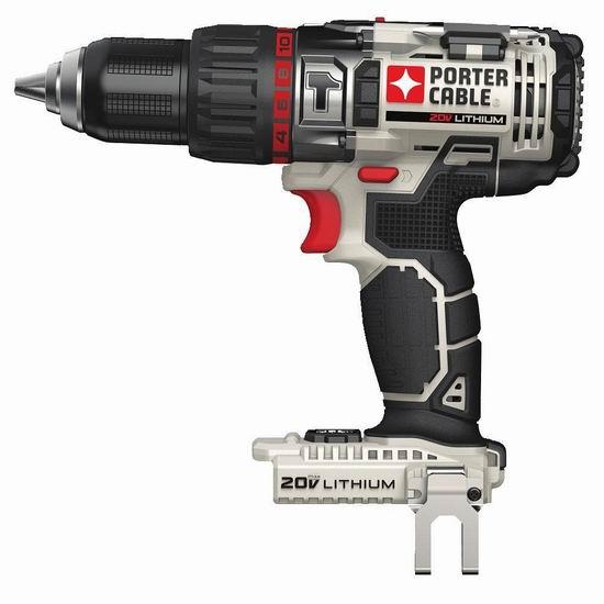 历史新低!PORTER-CABLE PCC620B 20伏电锤电钻起子机(不含电池)5.2折 65.4加元包邮!