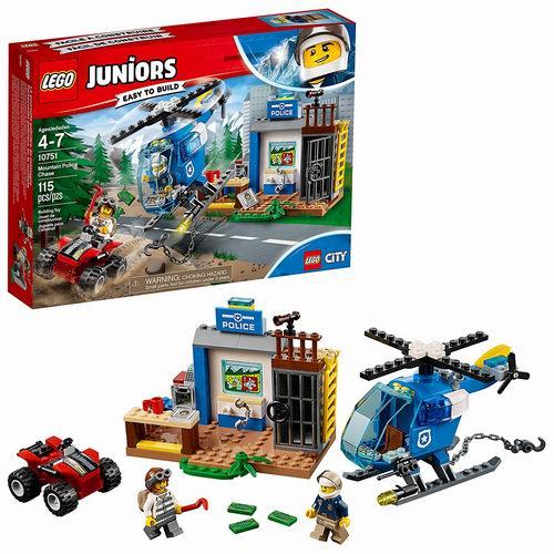 历史新低!LEGO 乐高 Juniors 10751 警察山地大追击115块 16.99加元,原价 24.99加元