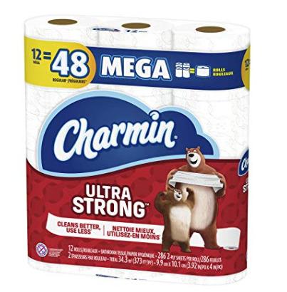 Charmin Ultra 超软/超强 双层卫生纸12卷 14.77加元