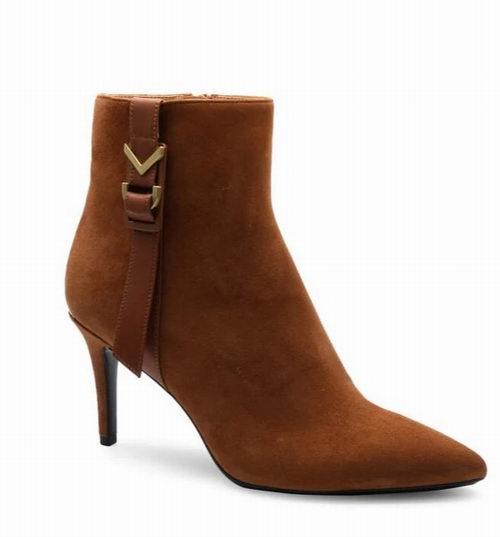 Calvin Klein Dress 女士尖头踝靴 126加元(2色),原价 210加元,包邮