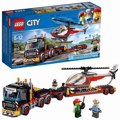 LEGO 乐高 城市系列 60183 重型直升机运输车 31.97加元,原价 39.99加元