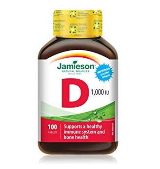Jamieson 健美生 维生素D 100粒 3.21加元,原价 5.84加元