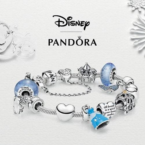 最后一天!Pandora 潘多拉 全场手镯、串珠、项链、戒指、耳环等精美首饰买二送一!特卖区7折+买二送一!收Shine、Disney系列!