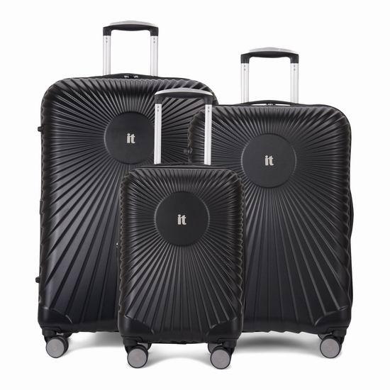 双11独家:英国 IT Luggage EOS 全PC 超轻硬壳 时尚拉杆行李箱3件套(20/24/28寸)2.4折 159.99加元包邮!
