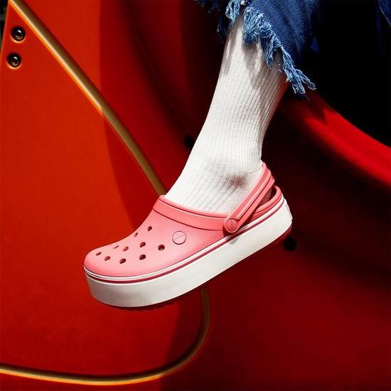 Crocs 卡洛驰 24小时闪购!精选洞洞鞋、休闲鞋等全部5折!部分款式折上折!