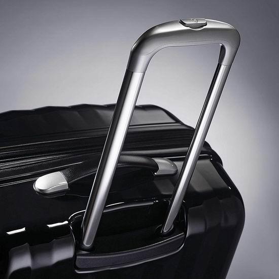 黑五预售!Samsonite 新秀丽 Prism 全PC 时尚黑色 超轻硬壳拉杆行李箱(20/24寸)2件套 165.23加元包邮!