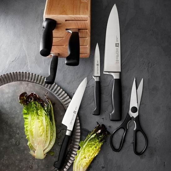 Zwilling J.A Henckels 双立人 四星系列厨房刀具8件套2.7折 242.99加元包邮!送8把牛排刀!仅限今日!