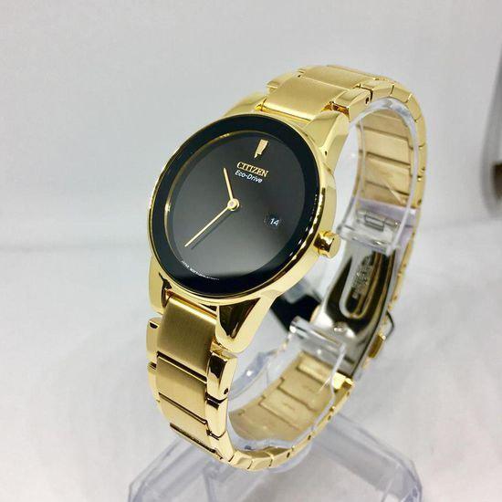 历史新低!Citizen 西铁城 GA1052-55E 光动能 金色调 女式腕表/手表4.2折 124.88加元包邮!