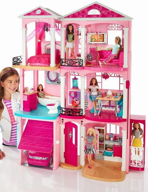 历史最低价!Barbie 芭比 DreamHouse 梦想之家 169.99加元,原价 239.99加元,包邮