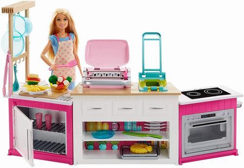 Barbie 芭比 Ultimate Kitchen 终极厨房玩具 59.97加元,原价 74.99加元,包邮