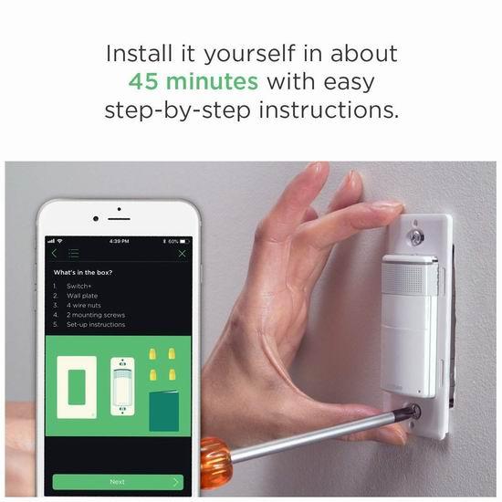 手慢无!历史新低!Ecobee Switch+ 语音智能开关4.9折 59.5加元包邮!
