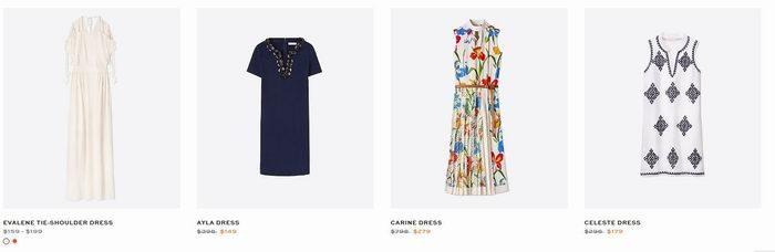 折扣升级!Tory Burch 精选时尚美包、连衣裙、拖鞋 6折起+额外7折!新款也打折,入明星同款!