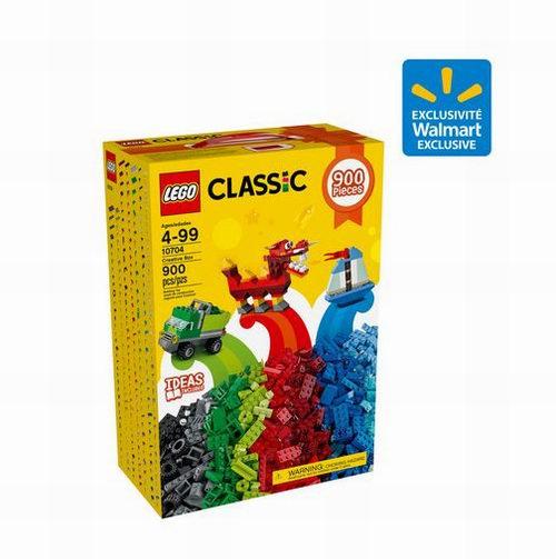 LEGO 乐高10704 创意积木盒(900pcs) 24.88加元,原价 49.86加元