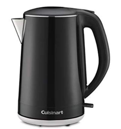 黑五专享!CUISINART CJK-15BKC 1.5 升电热水壶 39.96加元,原价 79.99加元,包邮