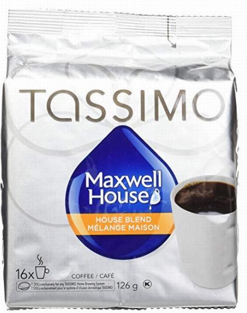 历史新低!Maxwell House Tassimo 咖啡胶囊16个装 4.72加元限时特卖!两种口味可选!