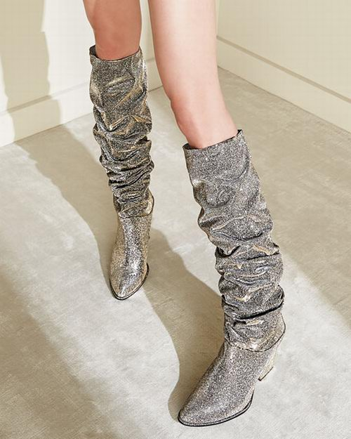 Stuart Weitzman Smashing Mid Calf 长筒靴 598.65加元(7码),原价 1007.5加元,包邮