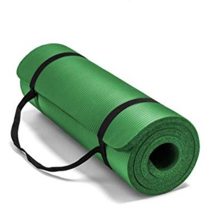 Spoga Premium超厚高密度运动瑜伽垫 绿色款 21.89加元,原价 53加元