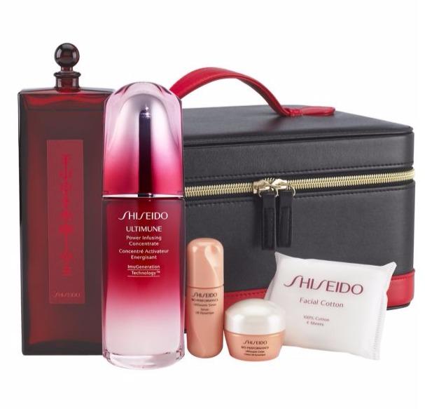 Shiseido 资生堂Icons 红腰子+红色蜜露精华化妆水+百优面霜 6件套(价值 303加元) 243加元包邮!
