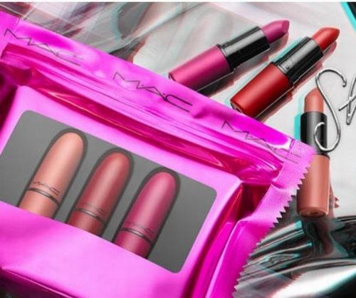 MAC 魅可 指定款美妆产品7.5折,全场满75加元立减10加元+满送九色眼影盘!抢限量版唇膏10支装、子弹头唇膏!