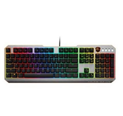GIGABYTE GK-XK700 游戏键盘 59.99加元,原价 114.62加元,包邮