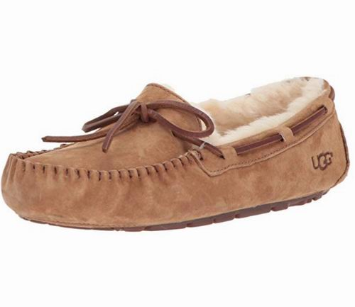 UGG Dakota 真皮羊毛 女式大童 豆豆鞋 84.99加元包邮!