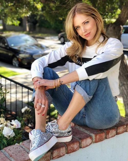 精选3款Converse x Chiara Ferragni All Star 厚底小银鞋 帆布鞋配大眼睛 8.5折热卖+包邮!