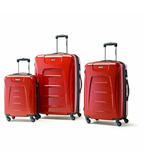 历史最低价!Samsonite Winfield 3 Fashion 硬壳行李箱3件套 399.99加元,原价 524.16加元,包邮