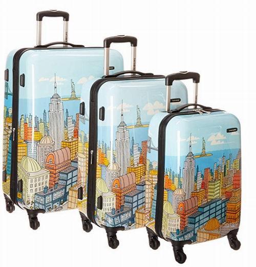 Samsonite Nyc Cityscapes 拉杆行李箱/登机箱 3件套 436.35加元,原价 622.31加元,包邮