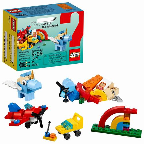 LEGO 乐高 10401 经典乐高彩虹系列创意盒 5.86加元热卖!