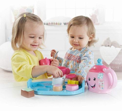 Fisher-Price Laugh & Learn小公主茶具玩具套装 17.14加元,原价 26.99加元