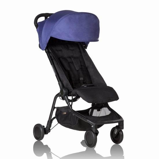 历史新低!新西兰 Mountain Buggy Nano 超便携婴儿推车5.7折 199.99加元包邮!