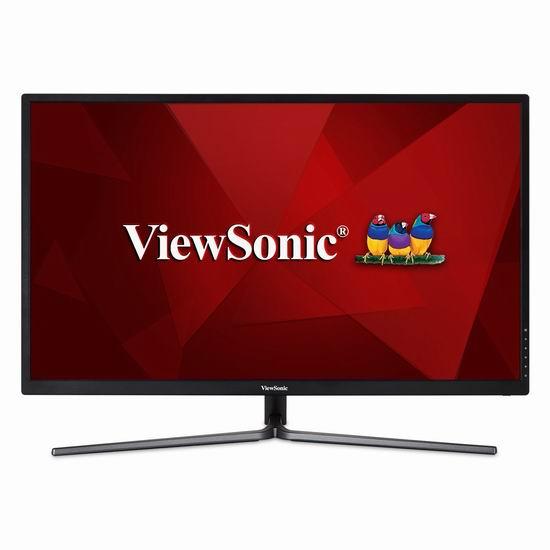 历史新低!ViewSonic 优派 VX3211-2K-MHD 32英寸 2K超高清液晶显示器 289.98加元包邮!