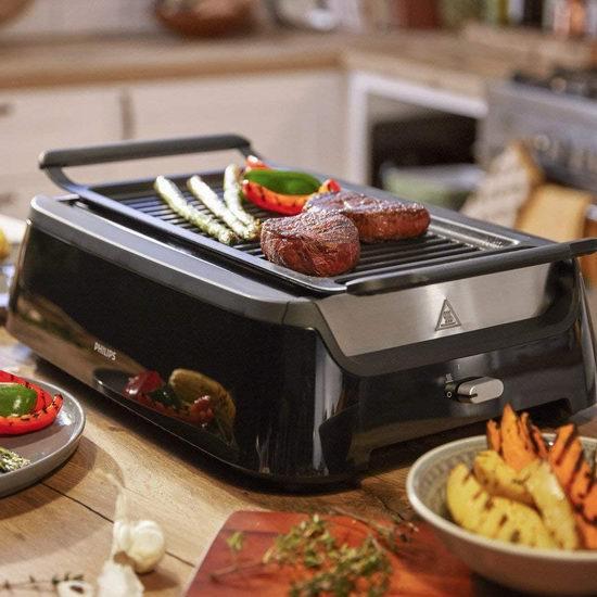 冬季烧烤神器!Philips 飞利浦 HD6371/98 室内无烟 牛排机/电烧烤炉6.4折 224.14加元包邮!