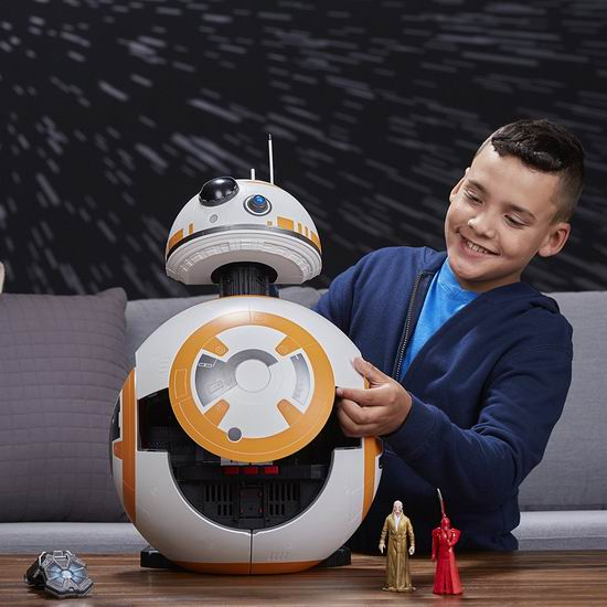 白菜价!历史新低!Star Wars 星球大战 Force Link BB-8 机器人大型玩具套装1.5折 46.34加元清仓并包邮!会员降为41.71加元!