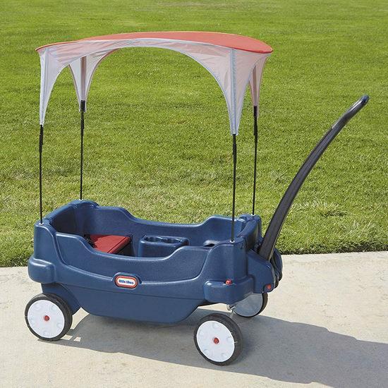 历史新低!Little Tikes 小泰克 豪华儿童双人 四轮拖车3.4折 64.44加元包邮!
