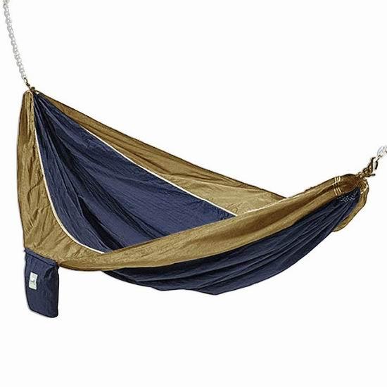 超级白菜!历史新低!Hammaka Parachute Silk 超轻便携式吊床1.5折 10.72加元清仓!