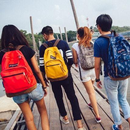 $20收王菲应采儿同款背包!Jansport 时尚双肩背包、腰包、午餐包、铅笔袋等4折起清仓!